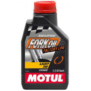 Fork oil Motul SAE 5W 1lt synthetic