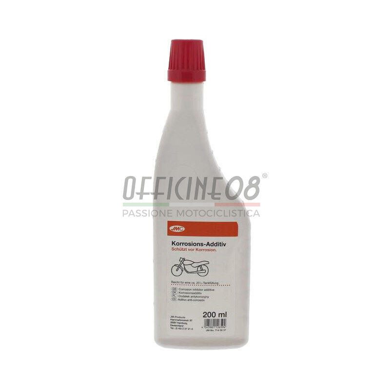 Additivo benzina verde JMC 200ml anti corrosione