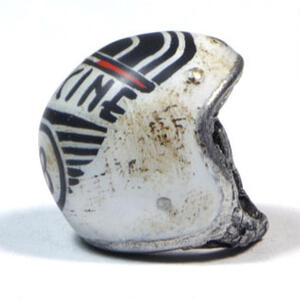 Keyholder pendant helmet Officine 08 Vintage