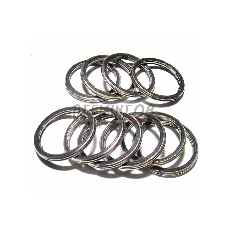 Exhaust pipe gasket Honda 44x52x3.5mm cylinder head set 10pcs