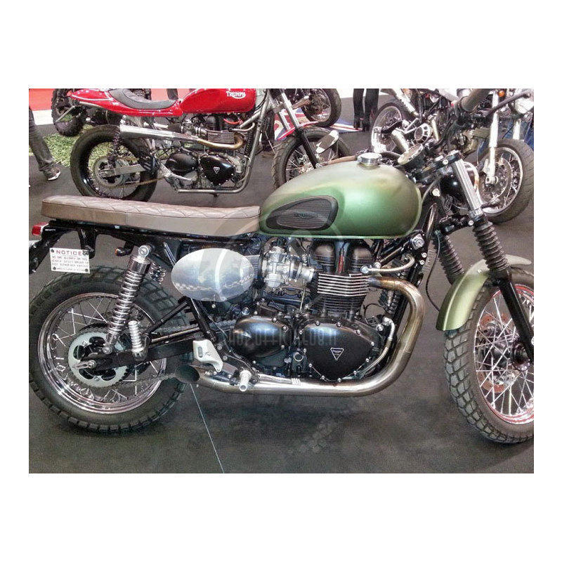 Exhaust system Triumph Bonneville 800 Mass 2-2 Hot Rod