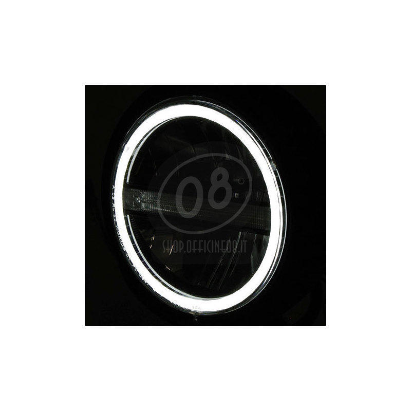 Faro anteriore 5.3/4'' Highsider Pecos Type5 full led nero opaco - Foto 4