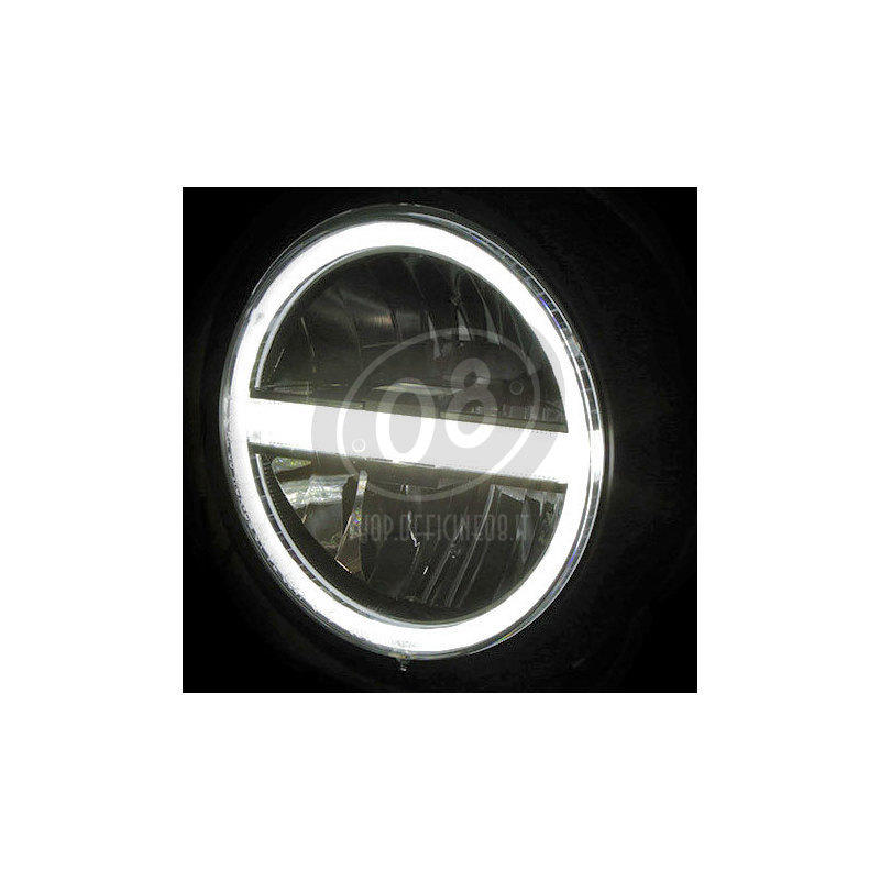 Faro anteriore 5.3/4'' Highsider Pecos Type5 full led nero opaco - Foto 3