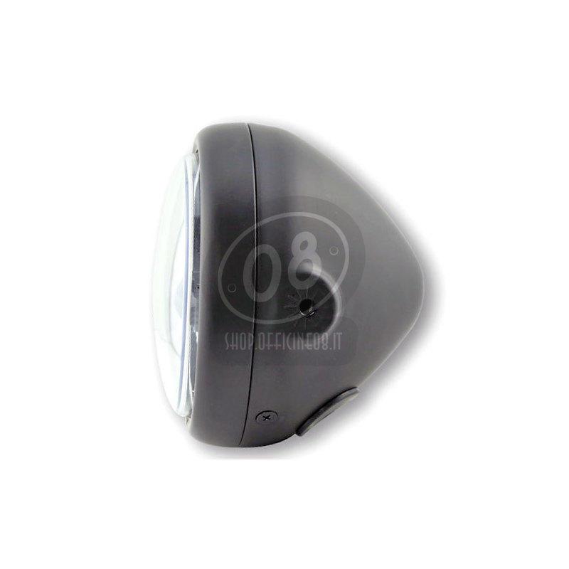 Faro anteriore 5.3/4'' Highsider Pecos Type 5 full led nero opaco - Foto 2