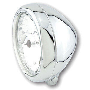 Halogen headlight 5.3/4'' Highsider Pecos chrome