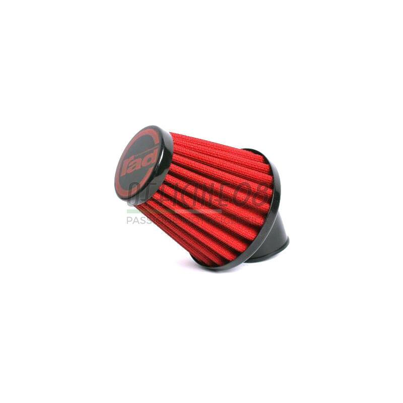 Filtro a trombetta 40mm conico inclinato 45°