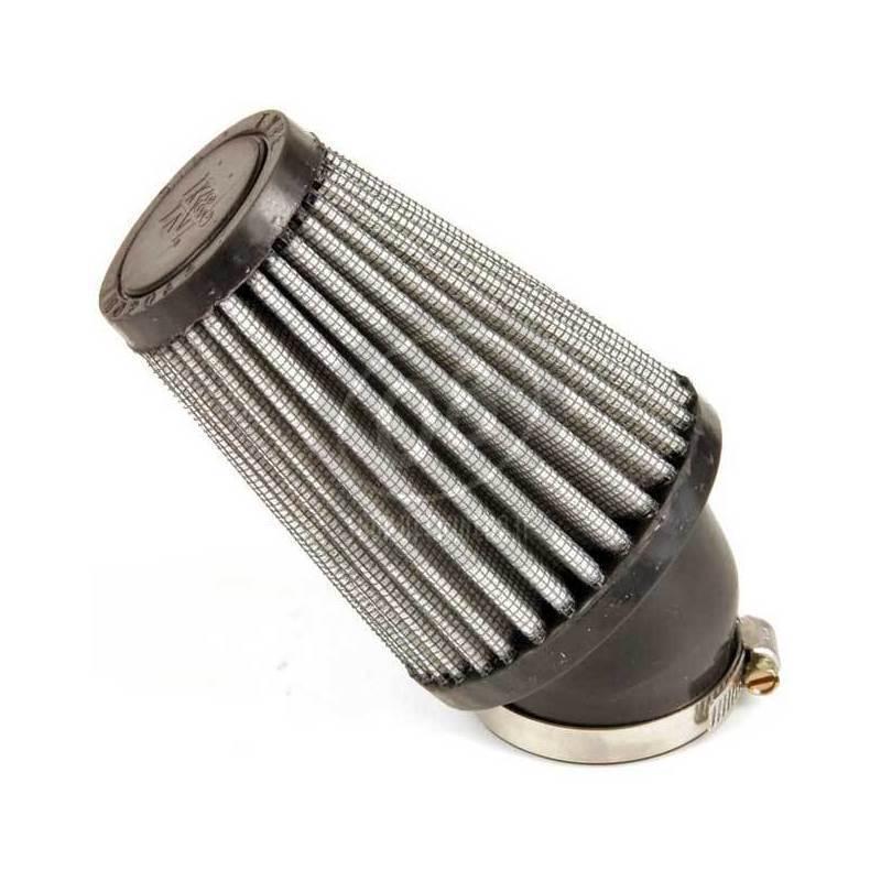 Filtro a trombetta 43x102mm conico inclinato 40° K&N - Foto 5