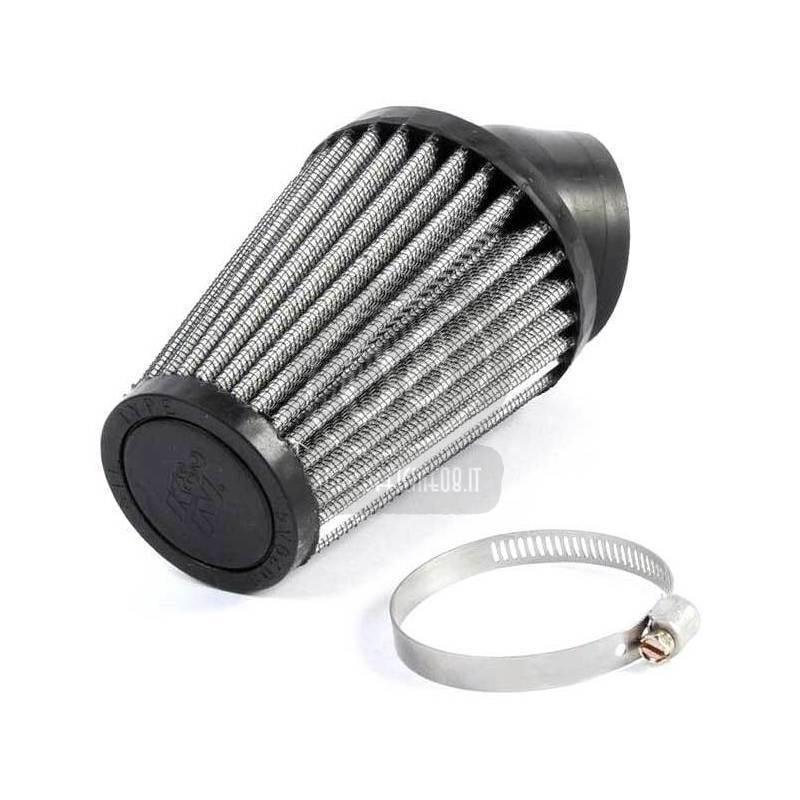 Filtro a trombetta 43x102mm conico inclinato 40° K&N - Foto 2