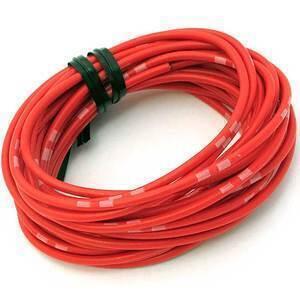 Cavo elettrico 0,82mm rosso