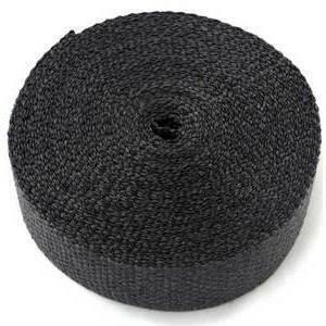 Exhaust pipe wrap 1093° black 50mm 7.5mt