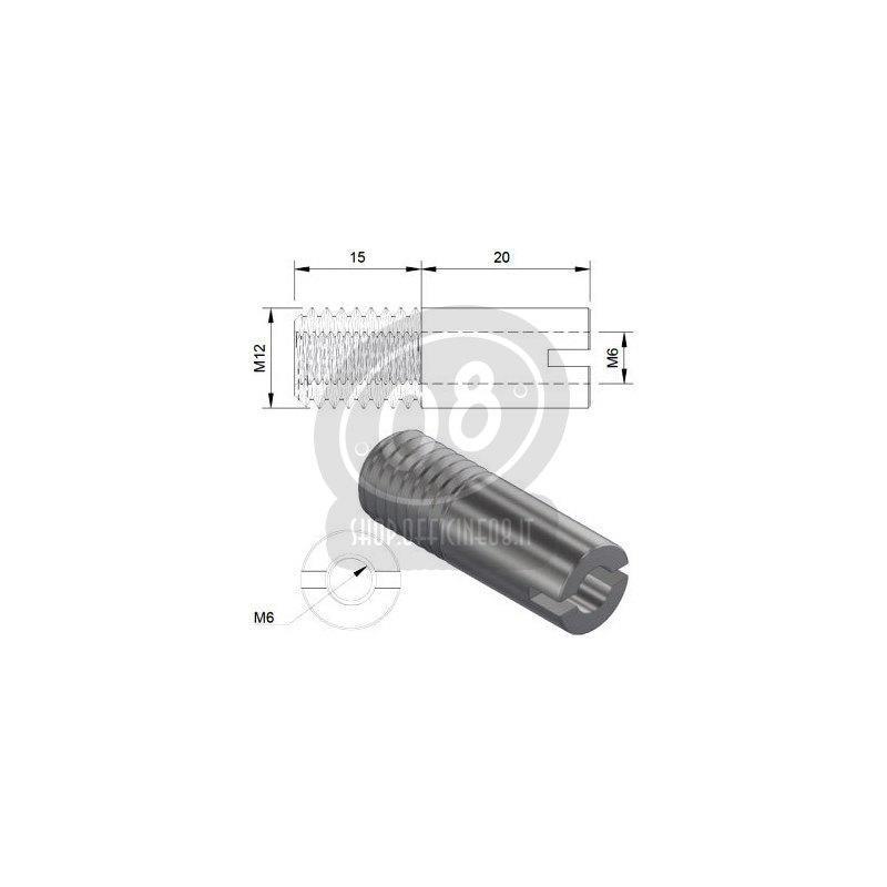 Kit adattatore specchietti bar-end per BMW R 9T - Foto 2