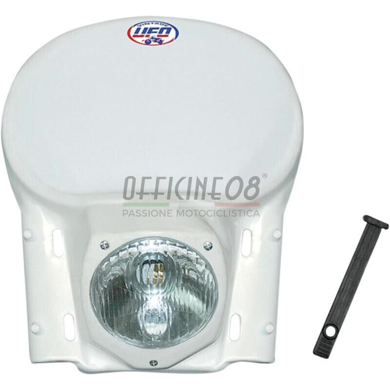 Headlight fairing Ufo Vintage complete white