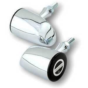 Led winkers Highsider Rocket Classic chrome position light combo smoked pair