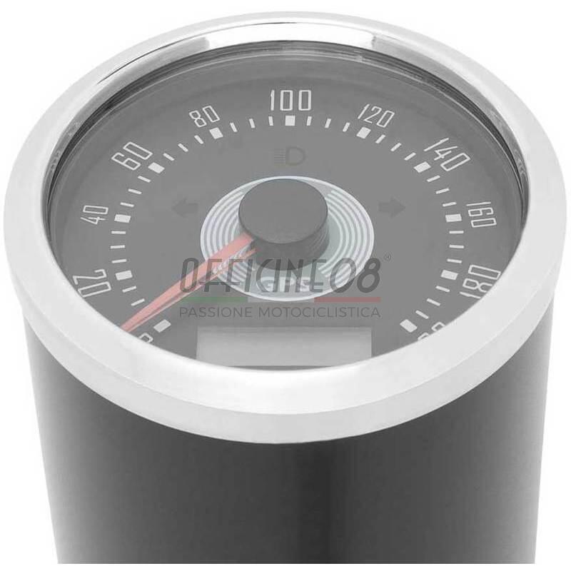 Contachilometri elettronico Smiths Replica GPS 200Km/h nero