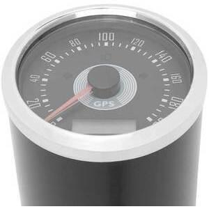 Electronic speedometer Smiths Replica GPS 200Km/h black