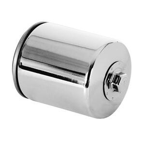 Oil filter Harley-Davidson Electra Glide K&N chrome
