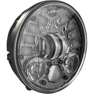 Faro anteriore per Harley-Davidson 5.3/4'' J.W. Speaker 8691 full led attacco basso nero opaco