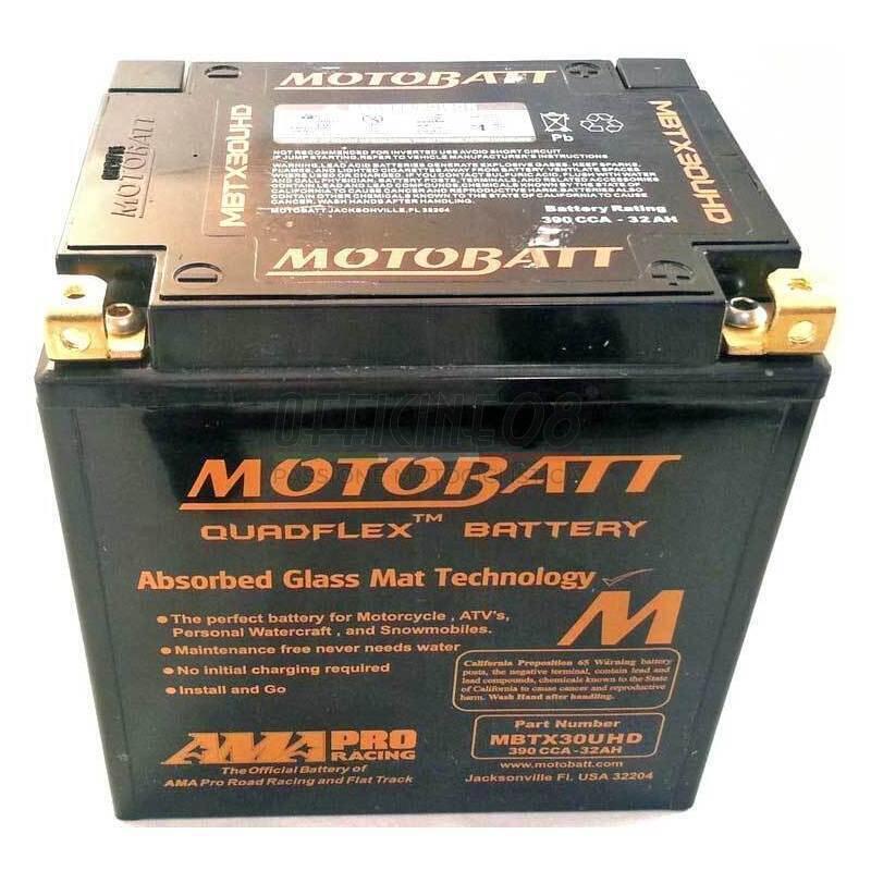 Harley Davidson Battery >> Battery Harley Davidson Touring Sealed Motobatt Mbtx30uhd Black 12v 32ah