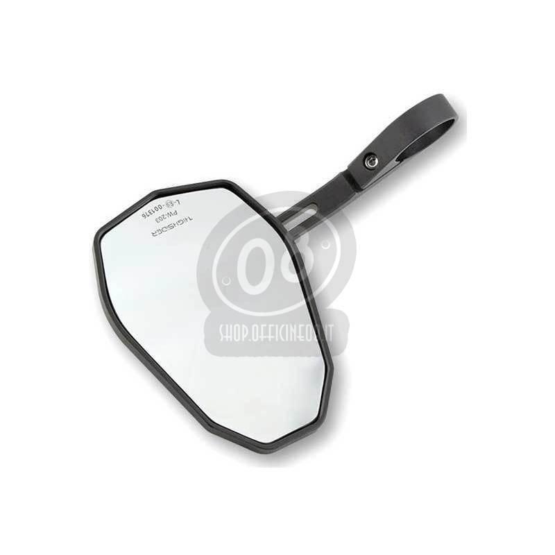 Specchietto retrovisore bar-end Highsider Victory-X nero