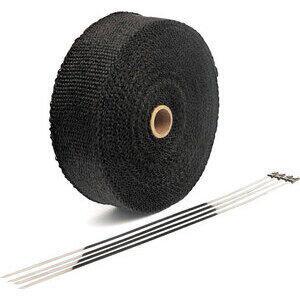Benda termica collettori di scarico 416° nero 50mm 15mt