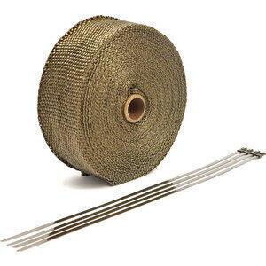 Benda termica collettori di scarico 822° bronzo 50mm 15mt