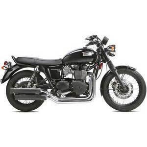 Exhaust system Triumph Bonneville 900 i.e. Ironhead 2-2 black