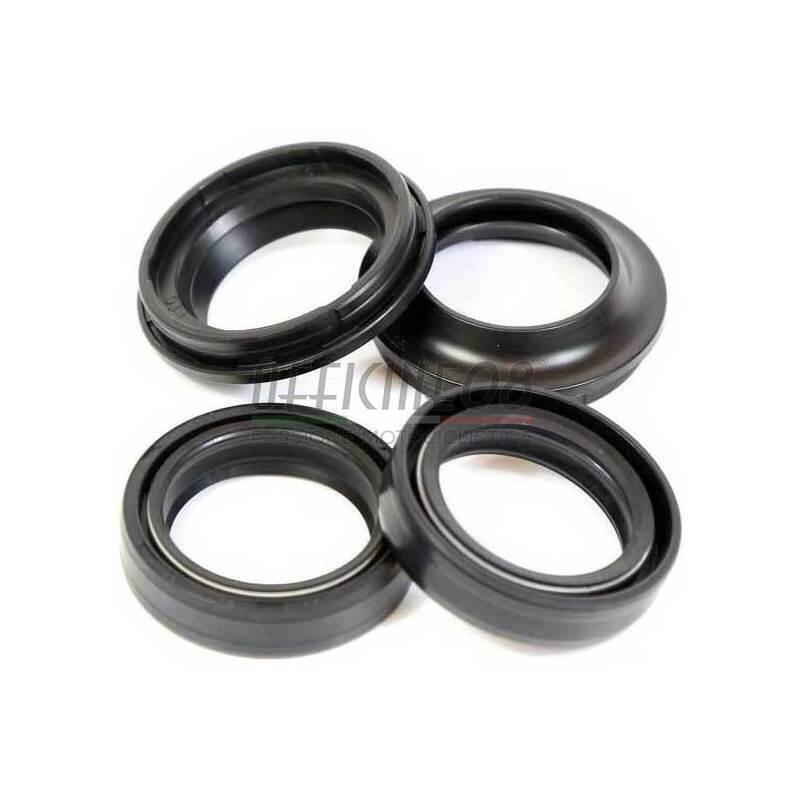Harley Davidson Covers >> Fork Dust Covers And Oil Seals Kit Harley Davidson 43x54x11mm