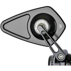 Specchietto retrovisore bar-end Motogadget M-View Blade senza vetro nero