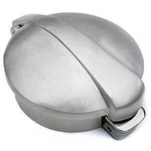 Fuel cap Monza big satin grey