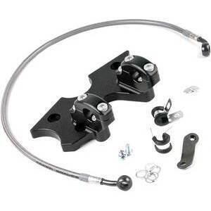 Piastra forcella per Suzuki GS 500 E kit Superbike LSL nero