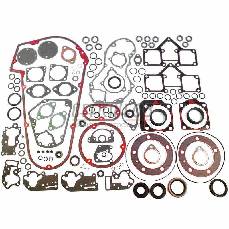 Shovelhead 4-Speed Complete Gasket Set for 74 in Cometic C9964 and 80 in