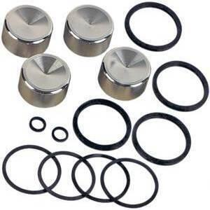 Brake caliper seal kit Harley-Davidson Evo Big Twin '85-'99- rear complete (*)
