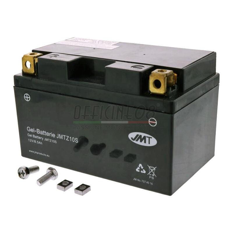 Batteria di accensione JMT YTZ10S gel 12V-8.6Ah