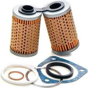 Oil filter BMW R 45 Mahle cooler complete