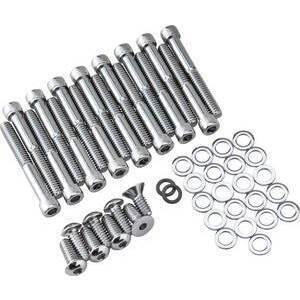 Bolts kit Harley-Davidson Sportster '04- primary chrome