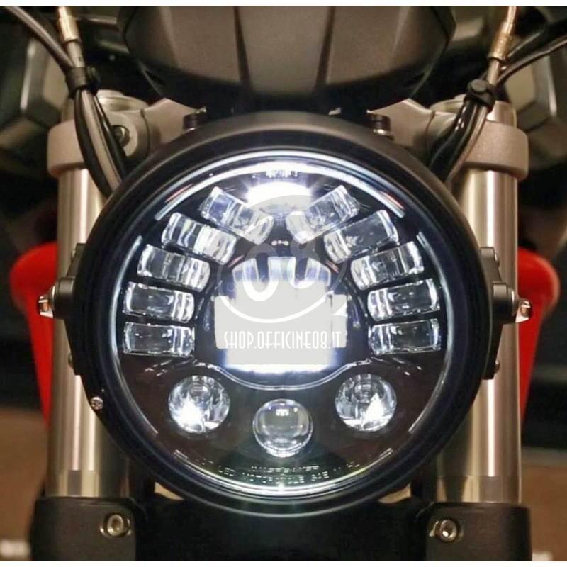 Headlight Kit Ducati Monster 900 Led Jw Speaker 8790 Adaptive2 Black
