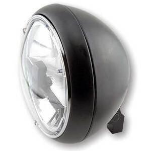 Full led headlight 7'' Highsider Yuma2 low mounting black matt