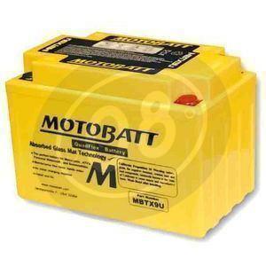 Battery Honda NX 650 Dominator sealed Motobatt 12V-10.5Ah