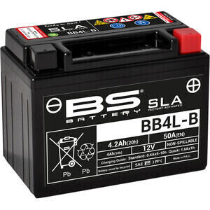 Batteria di accensione BS Battery BB4L-B SLA 12V-4Ah