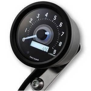 Electronic tachometer Daytona60 shift light 9K black