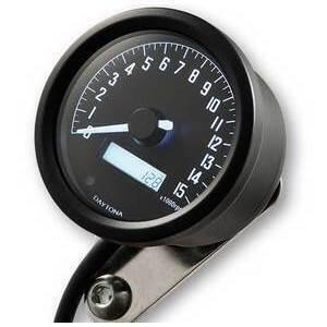 Electronic tachometer Daytona60 shift light 15K black