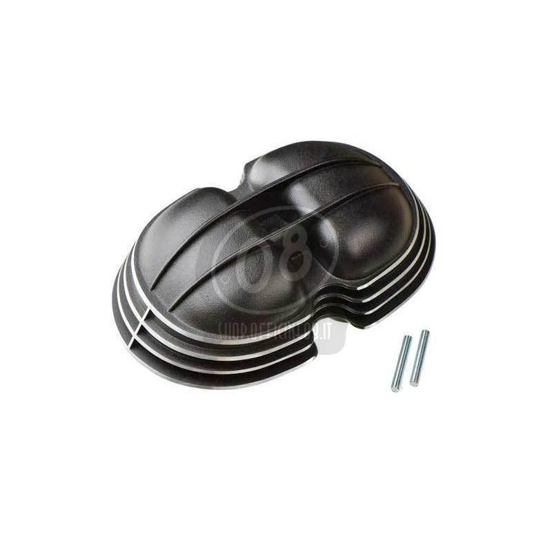 Coperchio distribuzione per BMW R 45 nero satinato/grigio - Foto 2