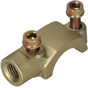 Collare fissaggio pompa freno/frizione Brembo PS13-16 oro portaspecchietto