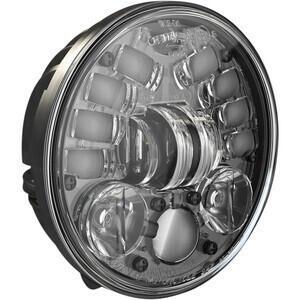 Faro anteriore per Harley-Davidson 5.3/4'' J.W. Speaker 8691 Adaptive2 full led attacco basso nero opaco