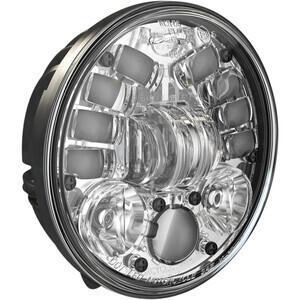 Faro anteriore per Harley-Davidson 5.3/4'' J.W. Speaker 8691 Adaptive2 full led attacco basso cromo