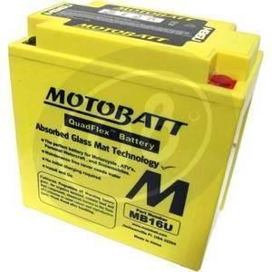Battery Honda VF 1000 sealed Motobatt 12V-19Ah