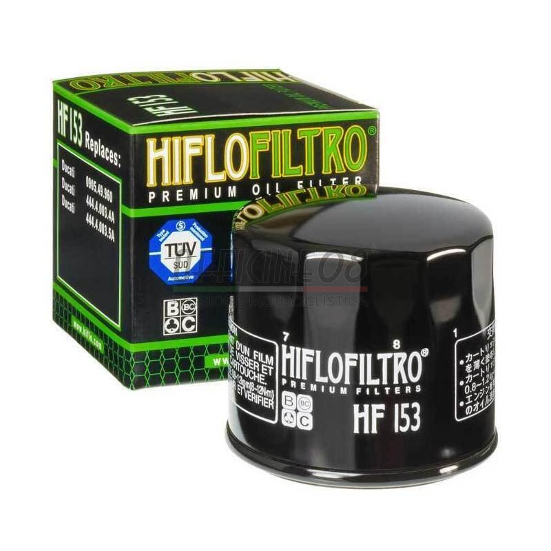 Filtro olio motore per Ducati 500 Pantah HiFlo - Foto 2