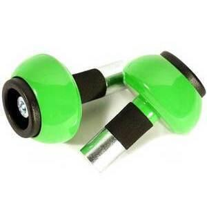 Bar-end weights LSL spheric 14mm green