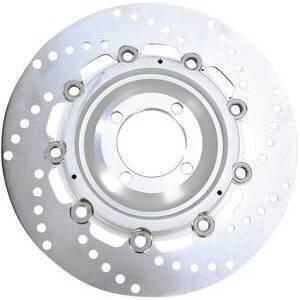 Brake disc BMW R 45 front left rotor vented floating EBC