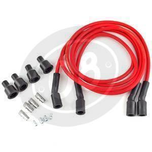 Ignition cable 7mm kit Dynatek red